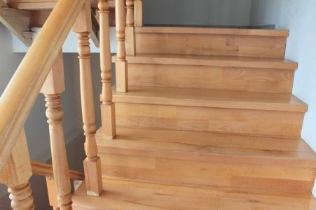Best How To Paint Wood Stair Railings Doityourself Com Wood 640 x 480
