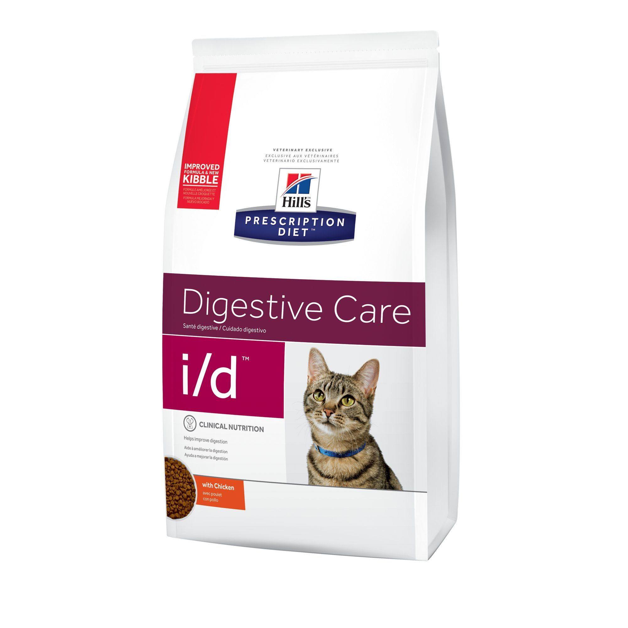 Hill S Prescription Diet I D Digestive Care Chicken Flavor Dry Cat Food 8 5 Lbs Bag Petco In 2021 Dry Cat Food Chicken Flavors Cat Food Reviews