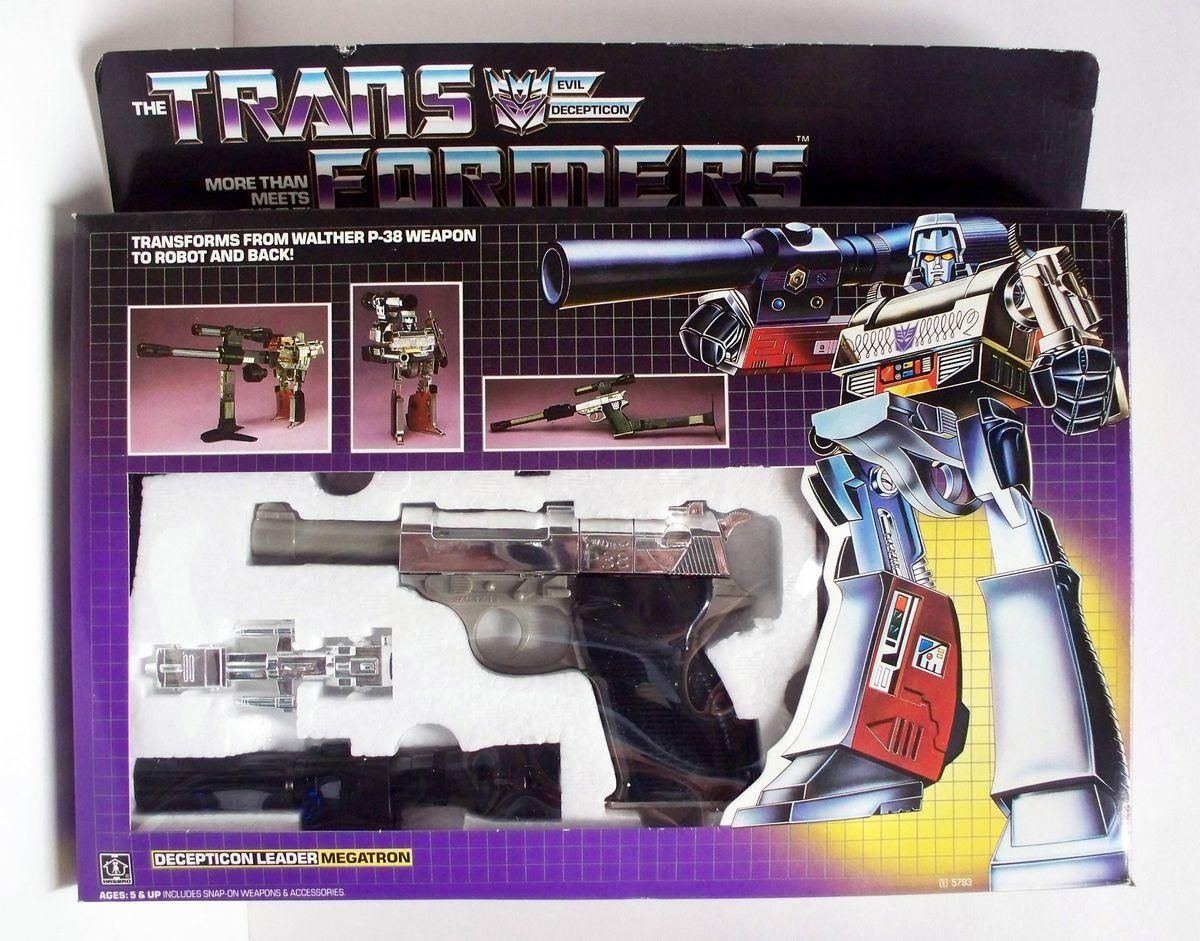 Megatron. Good luck playing with this at recess anymore.