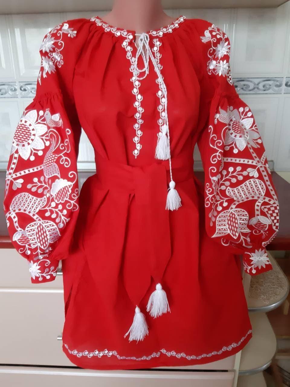 128c70adebf2ad Хіт продаж!!! Сучасне вишите плаття | Сучасна вишиванка https ...
