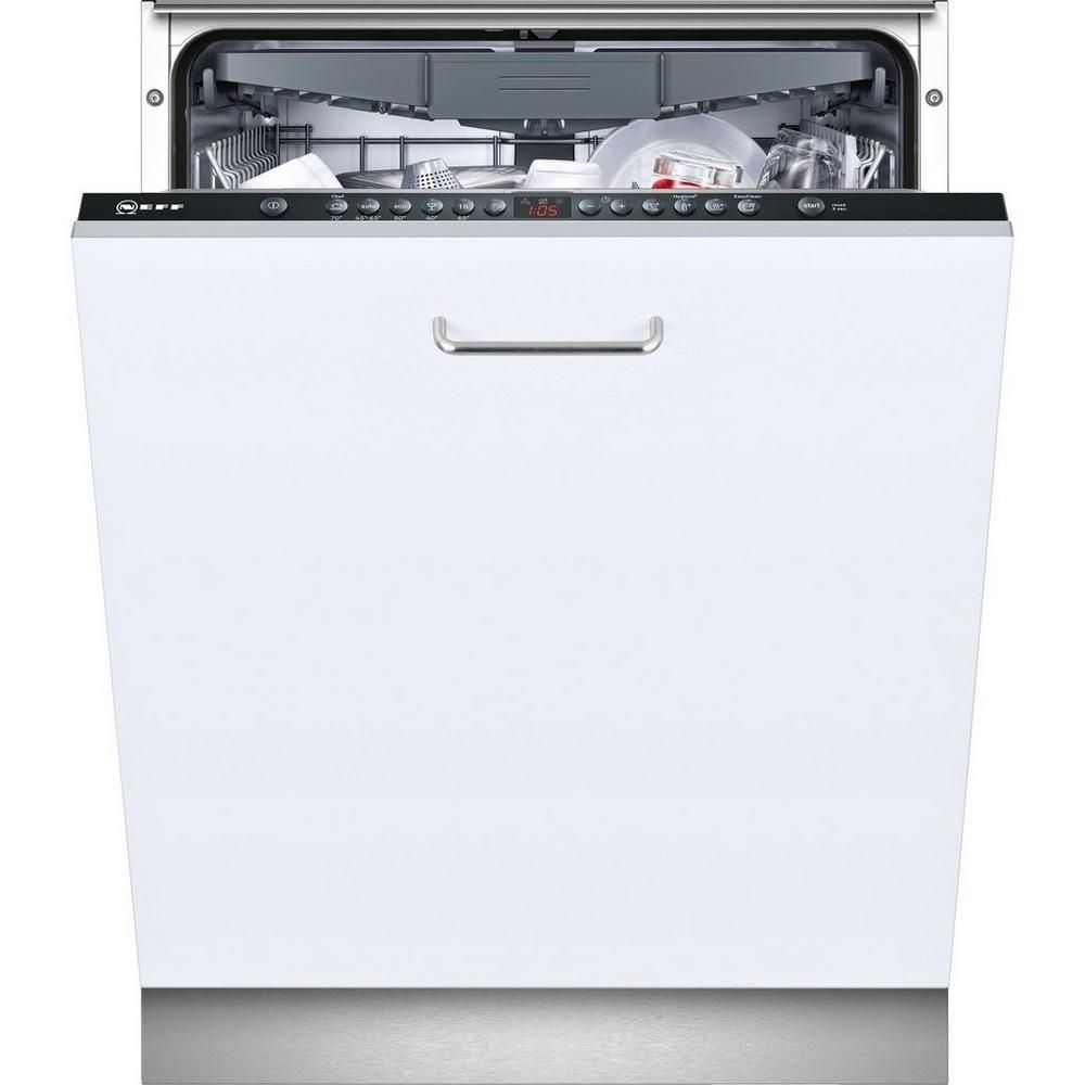 Neff S513m60x2g Integrated Full Size Dishwasher Products In 2019 Integrated Dishwasher Black Dishwasher Dishwasher