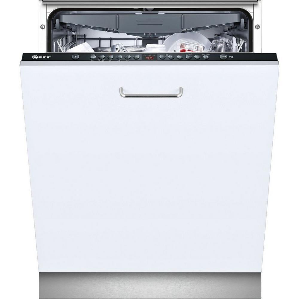 Neff S513m60x2g Integrated Full Size Dishwasher Products In 2019 Integrated Dishwasher Black Dishwasher Dishwasher
