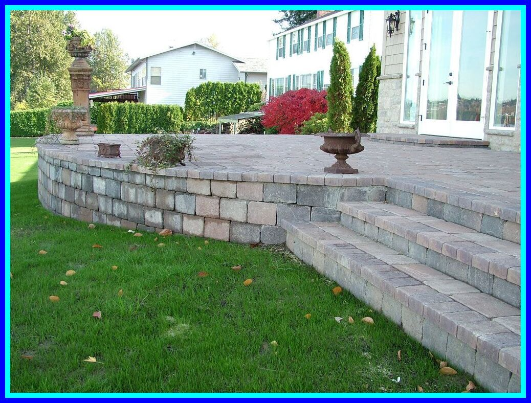 103 Reference Of Building A Raised Patio With Retaining Wall In 2020 Concrete Patio Designs Raised Patio Patio Design
