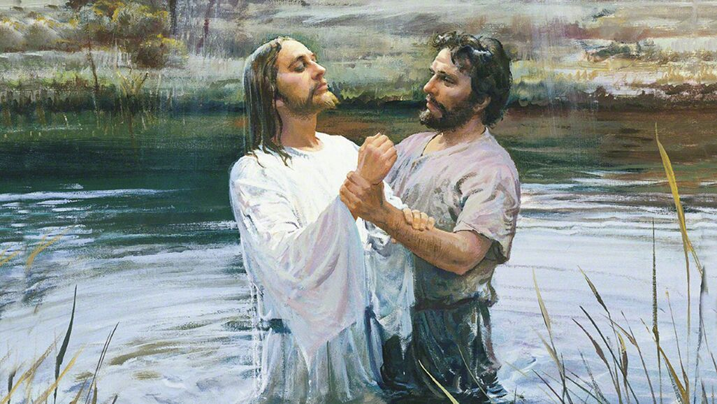 Baptism is a sacred ceremony through which a person