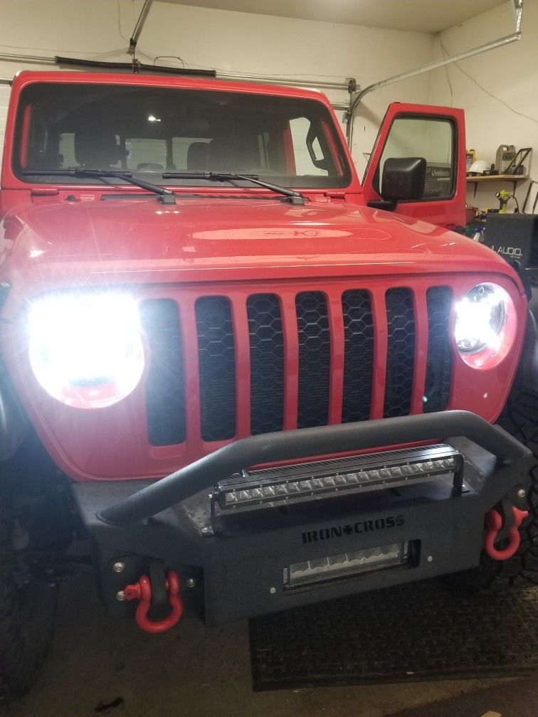 New Led Headlights Led Headlights Jeep Gladiator Led