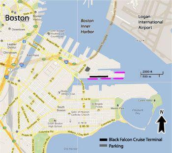 black falcon cruise terminal map Boston Cruise Port Map Http Www Cruisetimetables Com Cruises black falcon cruise terminal map