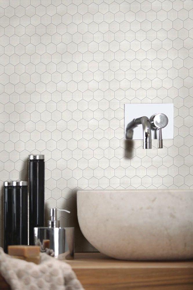 Vegro tiles 50 sandstone hexagon 5x5 - Fliser til kjøkken - Fliser, stein & tilbehør - MegaFlis.no