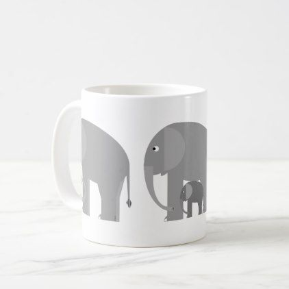 Elephants plus one mug elephants plus one mug baby gifts child new born gift idea diy cyo special unique negle Image collections