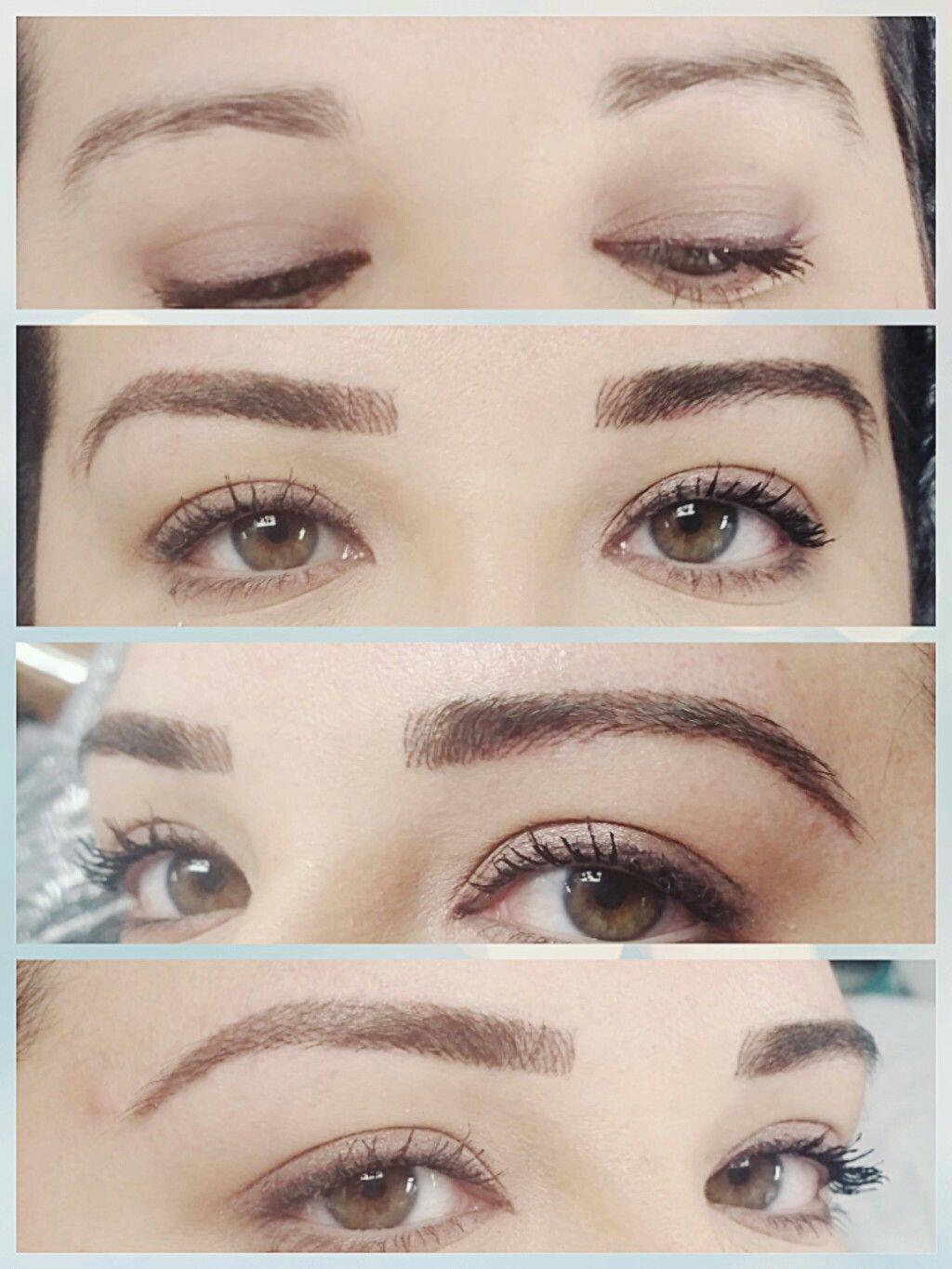 Ednaeybrows Atlanta Eyebrows Microblading Hairstroke
