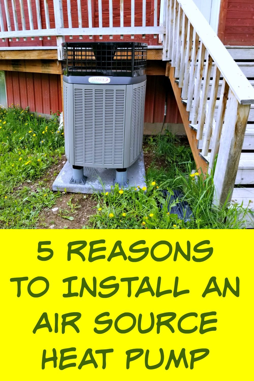 5 Reasons To Install An Air Source Heat Pump In 2020 Heat Pump