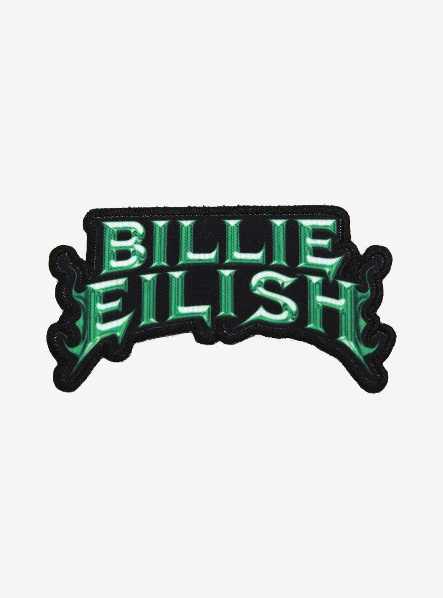 Billie Eilish Name Patch In 2020 Billie Eilish Billie Name Patches