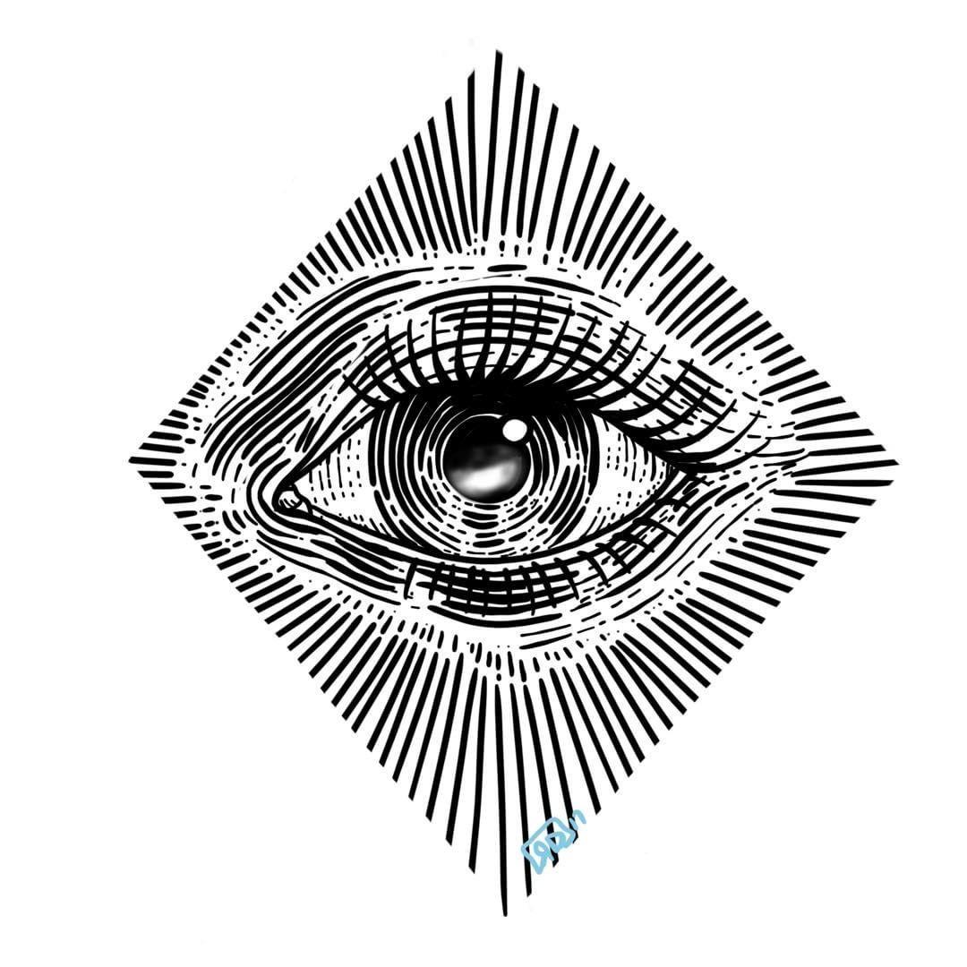 Pin by Souza Junior on Art   Eye illustration, Eye drawing ...