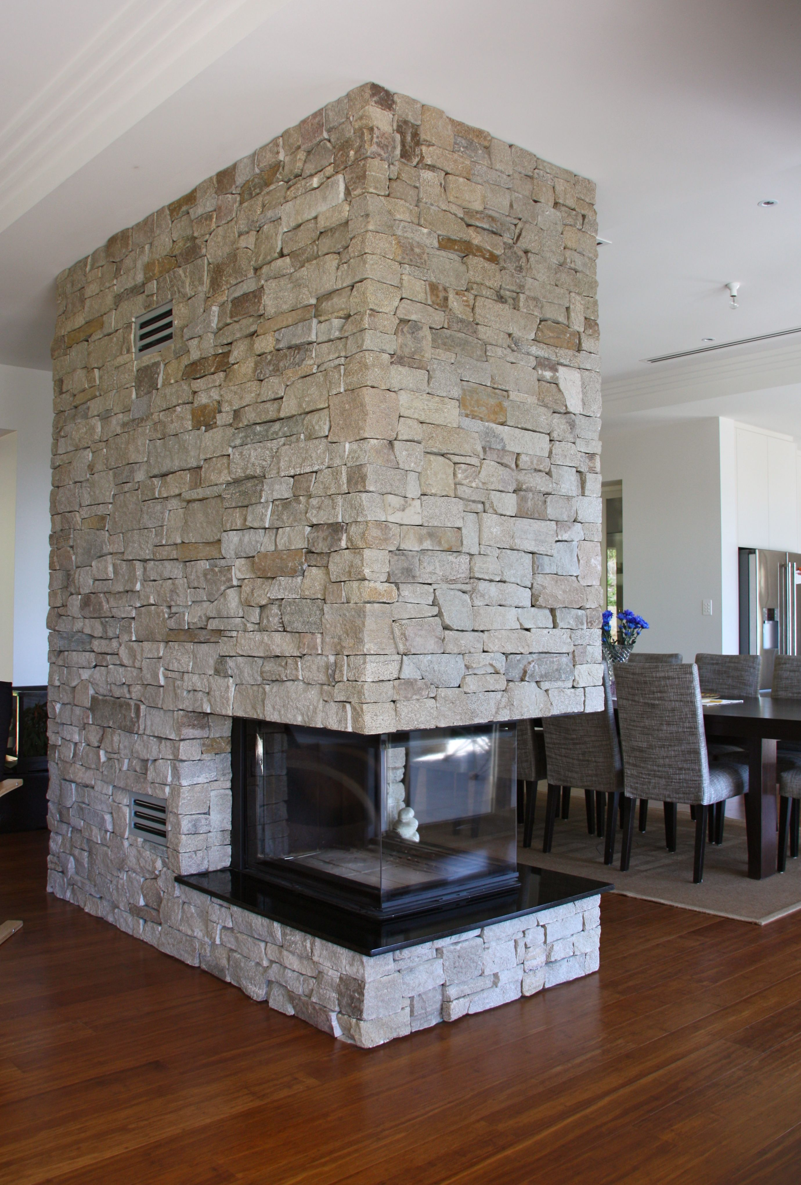 Eco Outdoor Alpine dry stone walling on indoor blade wall ...