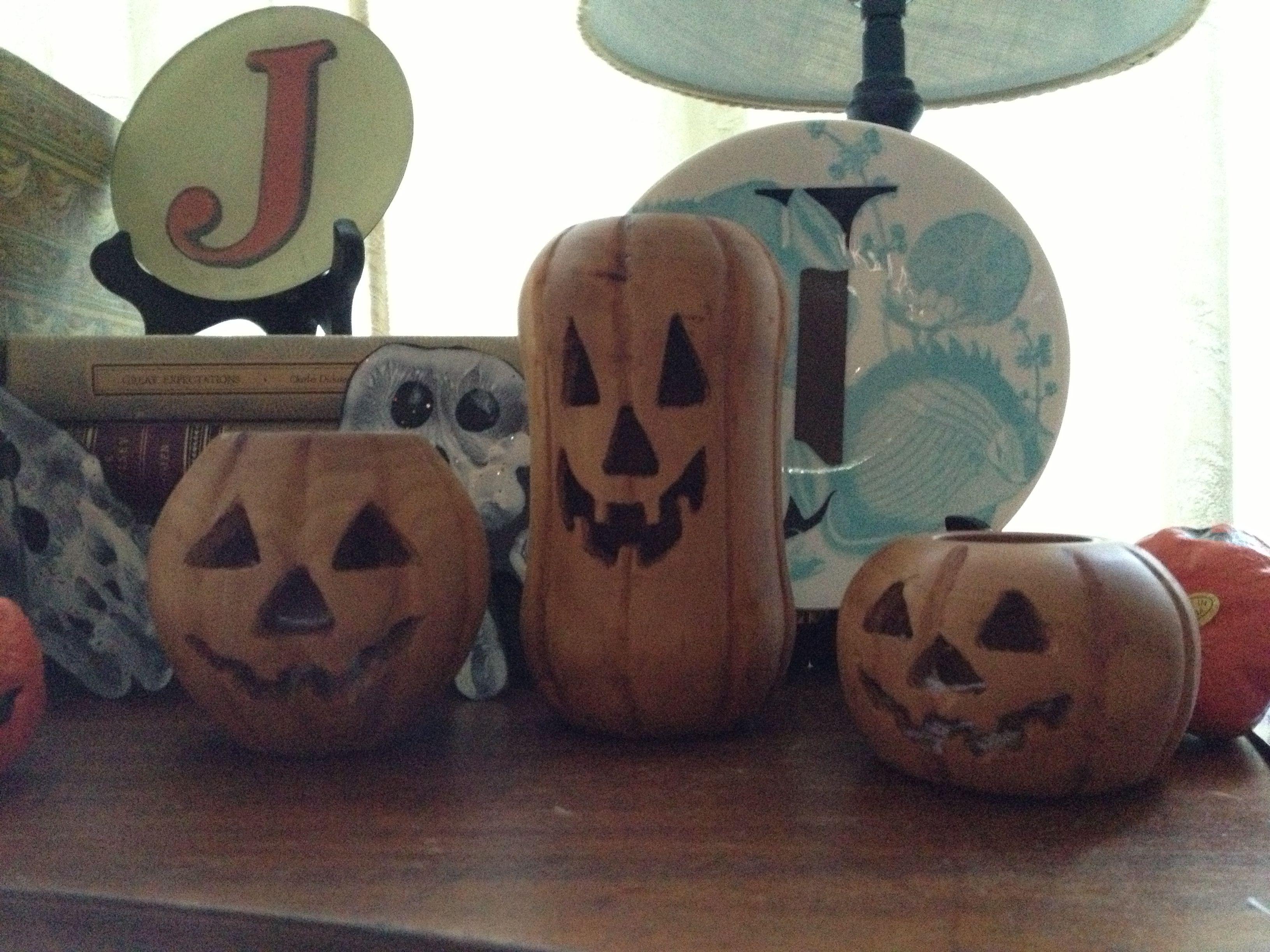 Woodturning Jack O' Lanterns