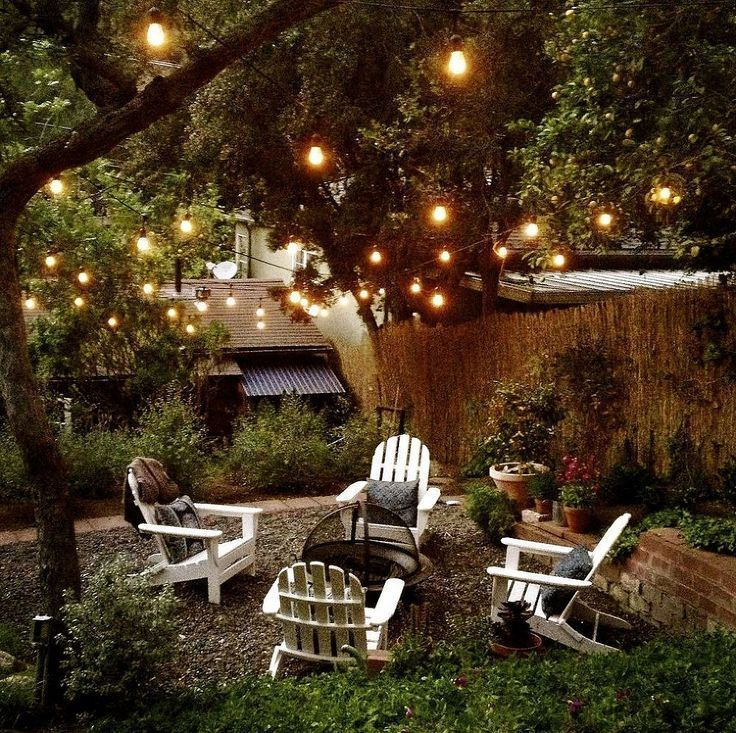 Outdoor String Lighting Ideas. Outdoor Room Ambience: Globe String Lights!  \u2022 Tips