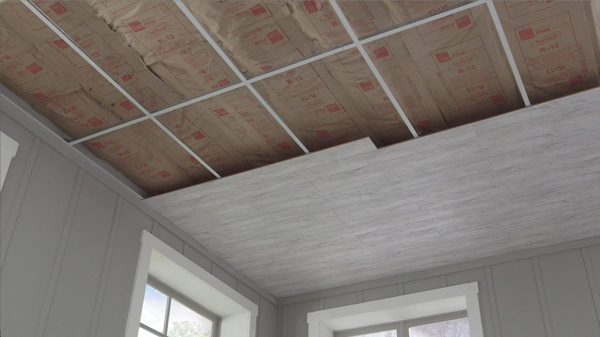 Installation Option 3 With Images Dropped Ceiling Armstrong Ceiling Basement Remodeling