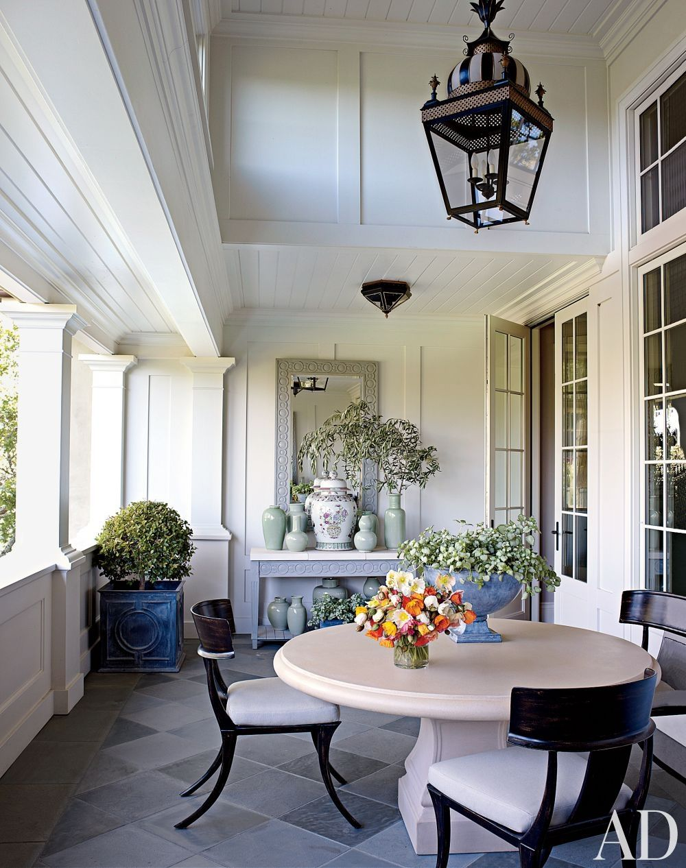 traditional outdoor spacesuzanne rheinstein and associates and