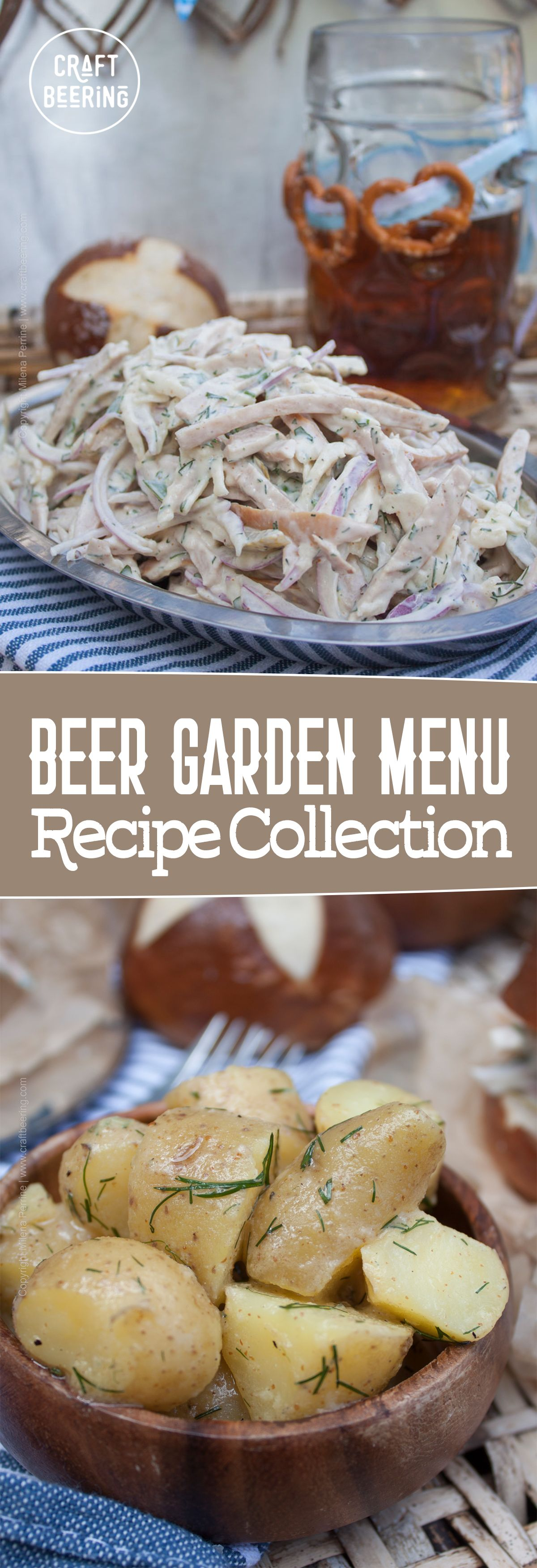 Beer garden food staples. A growing collection of food