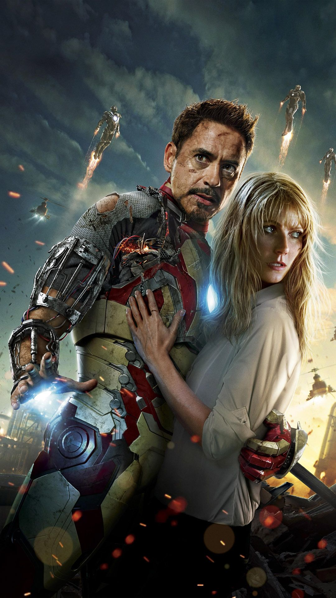 tony stark and pepper potts mobile wallpaper 8469 | marvel comics