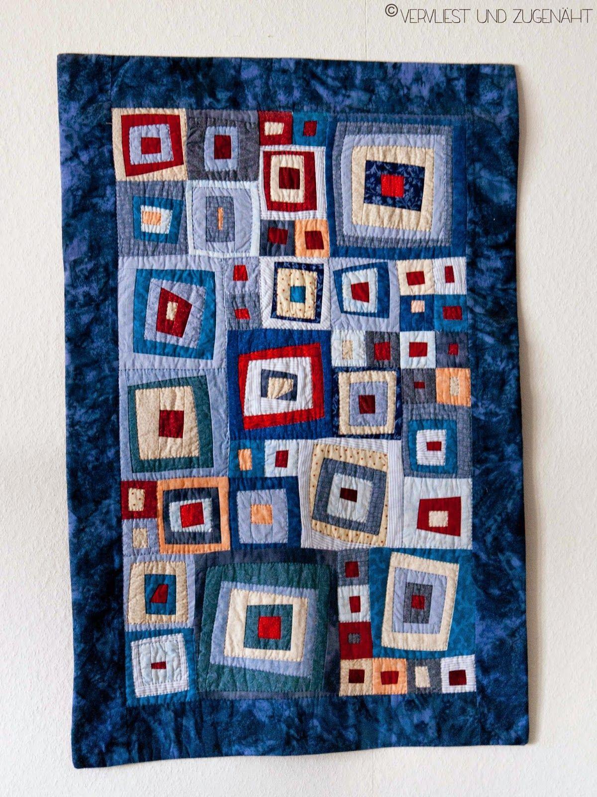 Modern Quilt {Patchwork Serie #1} | Quiltmuster, Patchwork decke und ...
