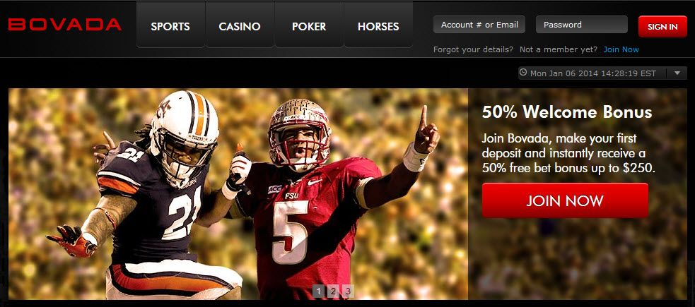 Online sports betting casino poker horse racing at bovada bettinger march