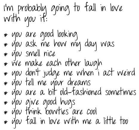 that's a good list haha