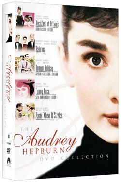 Audrey Hepburn DVD Collection. Want.
