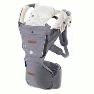 1845d2c8d5f Aimama Multifunction Outdoor Kangaroo Baby Carrier Sling Backpack New Born  Baby Carriage Hipseat Sling Wrap Summer and Winter