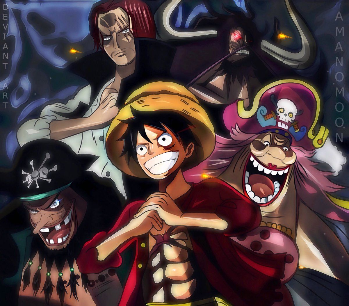 Monkey D Luffy Yonko One Piece Anime