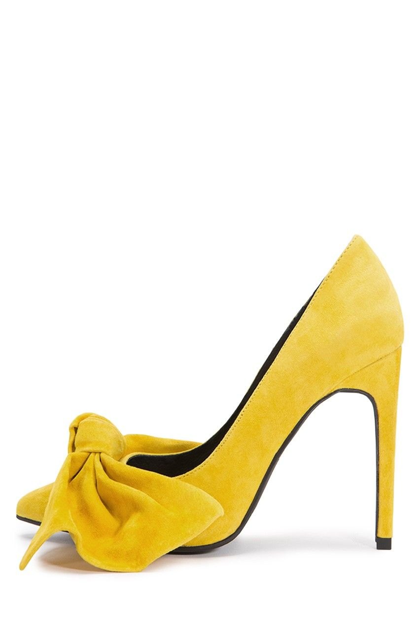 94507efb574 Jeffrey Campbell Shoes GRANDAME New Arrivals in Yellow Suede