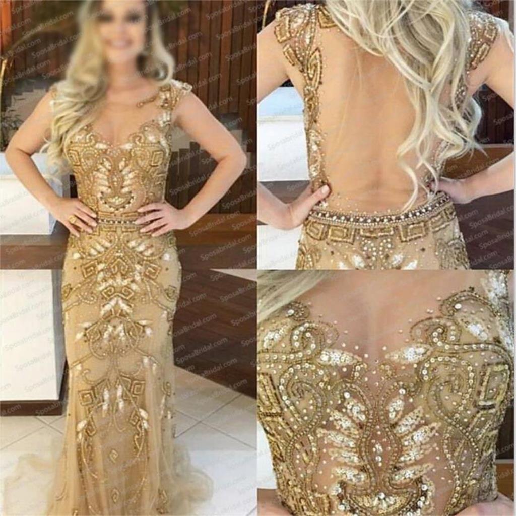 11++ Gold see through dress ideas