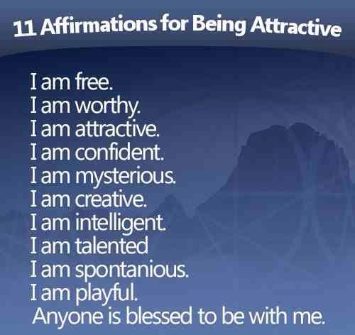 11 Affirmations For Being Attractive