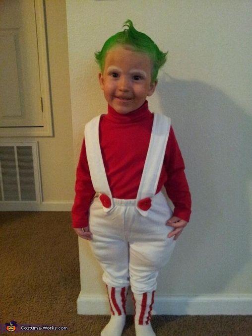 toddler oompa loompa costume - Oompa Loompa Halloween