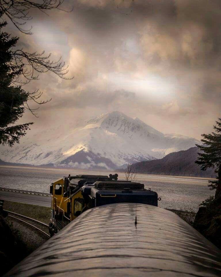 Train views.