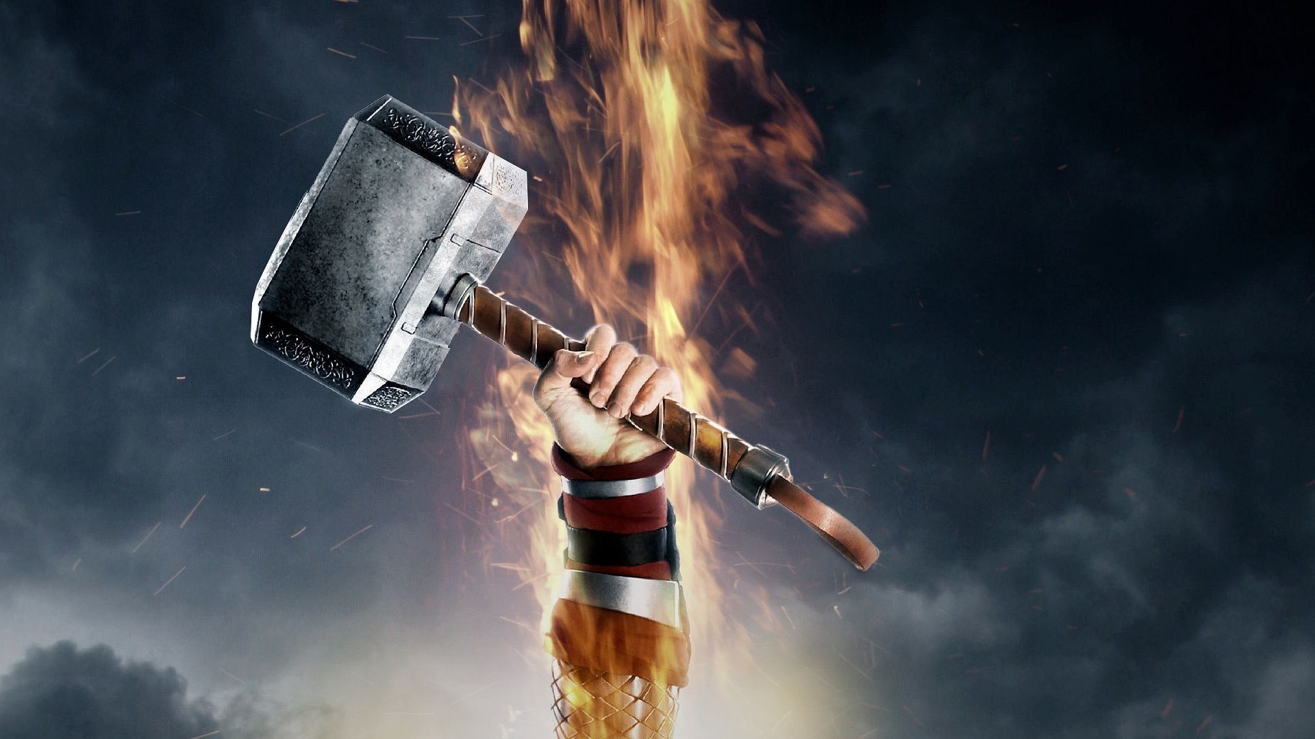 thor hammer hd desktop backgrounds 4839 hd wallpapers site