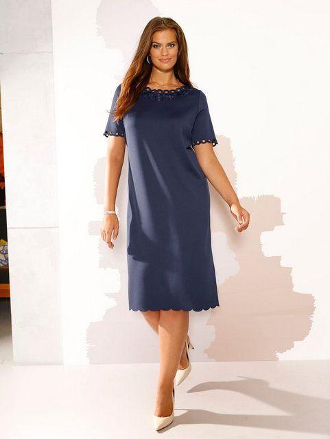 Photo of m. collezione Kleid mit Überkleid in floreale bedrucktem Chiffon online kaufen | OTTO