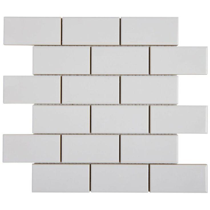 X Ceramic Tile Kitchen Backsplash Standard Package The - 2 x 4 floor tiles