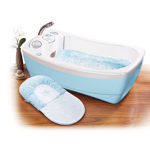 New Summer Infant Little Luxuries Whirlpool Bubbling Spa Shower