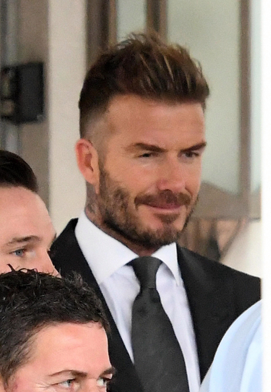 2018 Heu0027 Lerde David Beckham Sac Modelleri Butun Mzmbidp Vardi