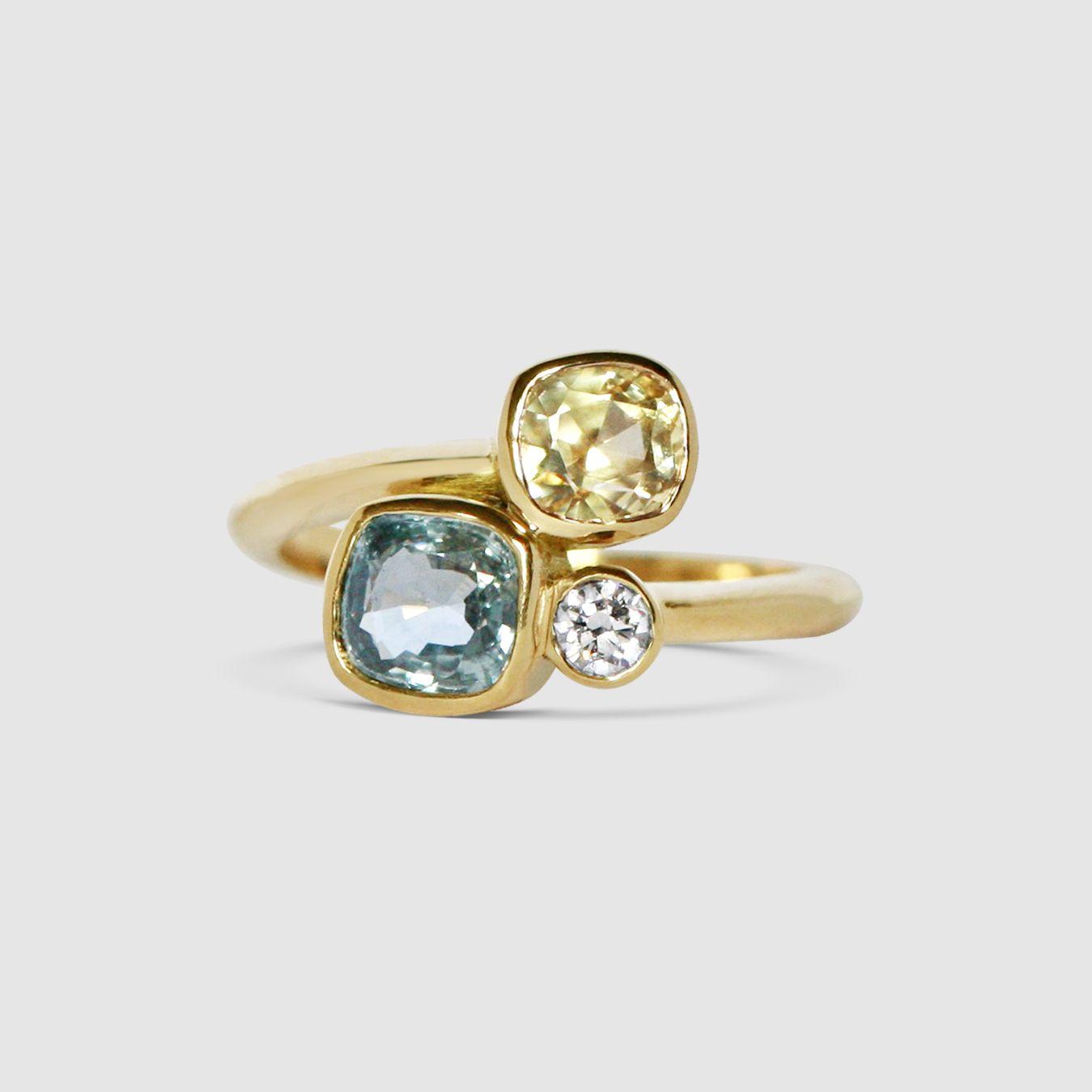 Lemon Quartz Earrings Pale Yellow Gemstone Emerald Cut |Light Yellow Gemstone Earrings