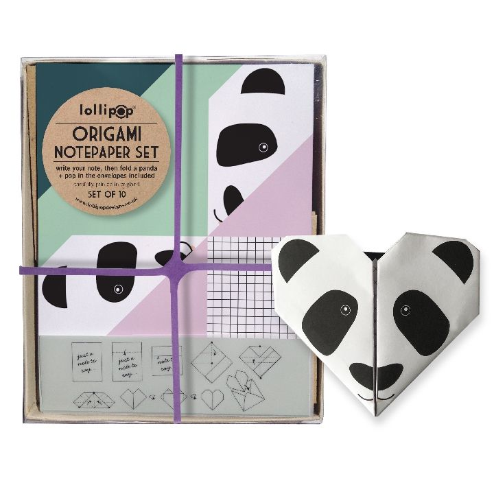Write out your notes and then fold up into pandas!