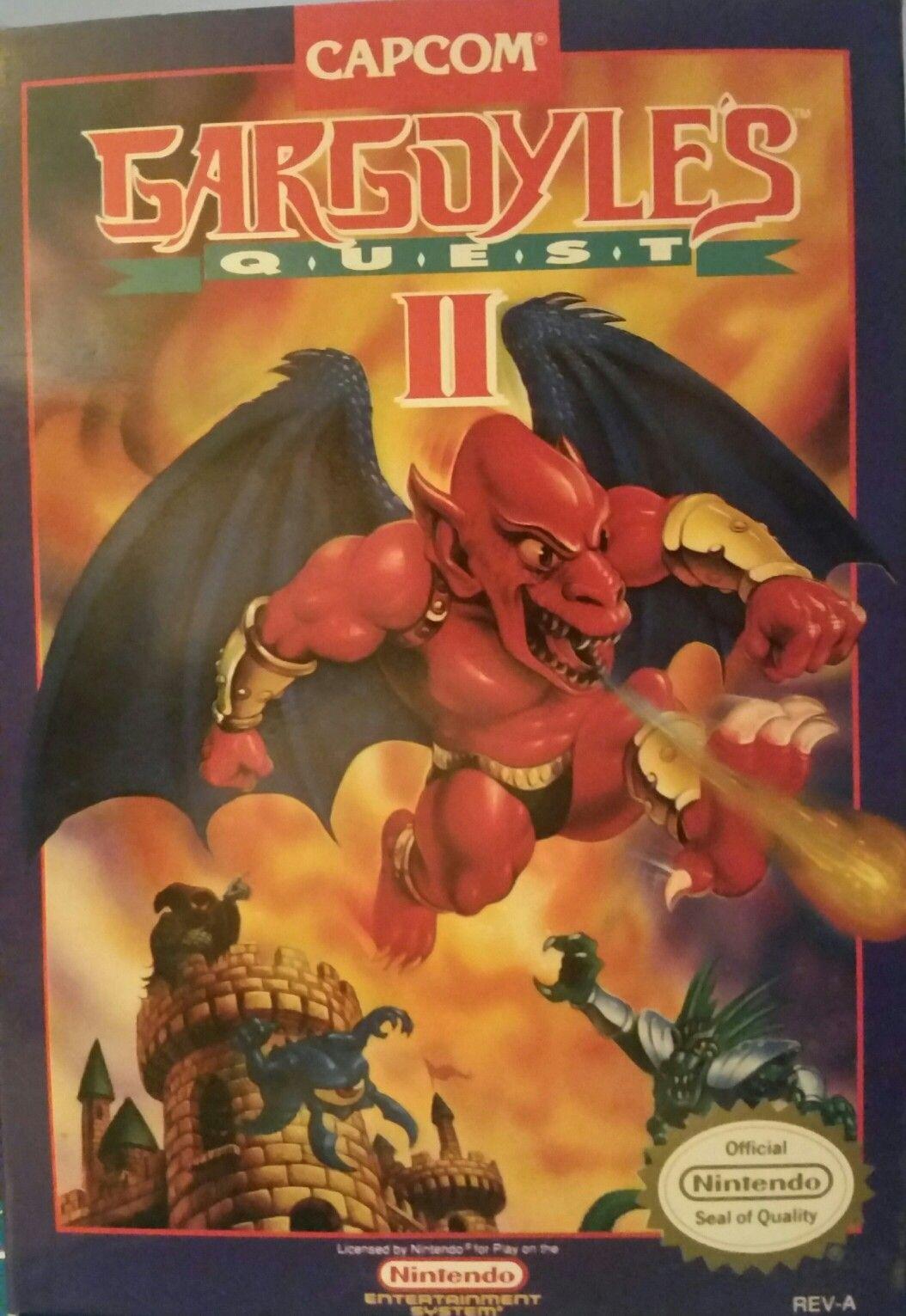 Gargoyle's Quest II Nintendo nes, Gargoyles, Nintendo