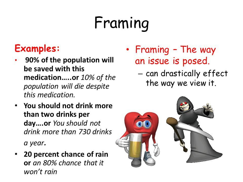 framing psychology definition | Viewframes.org
