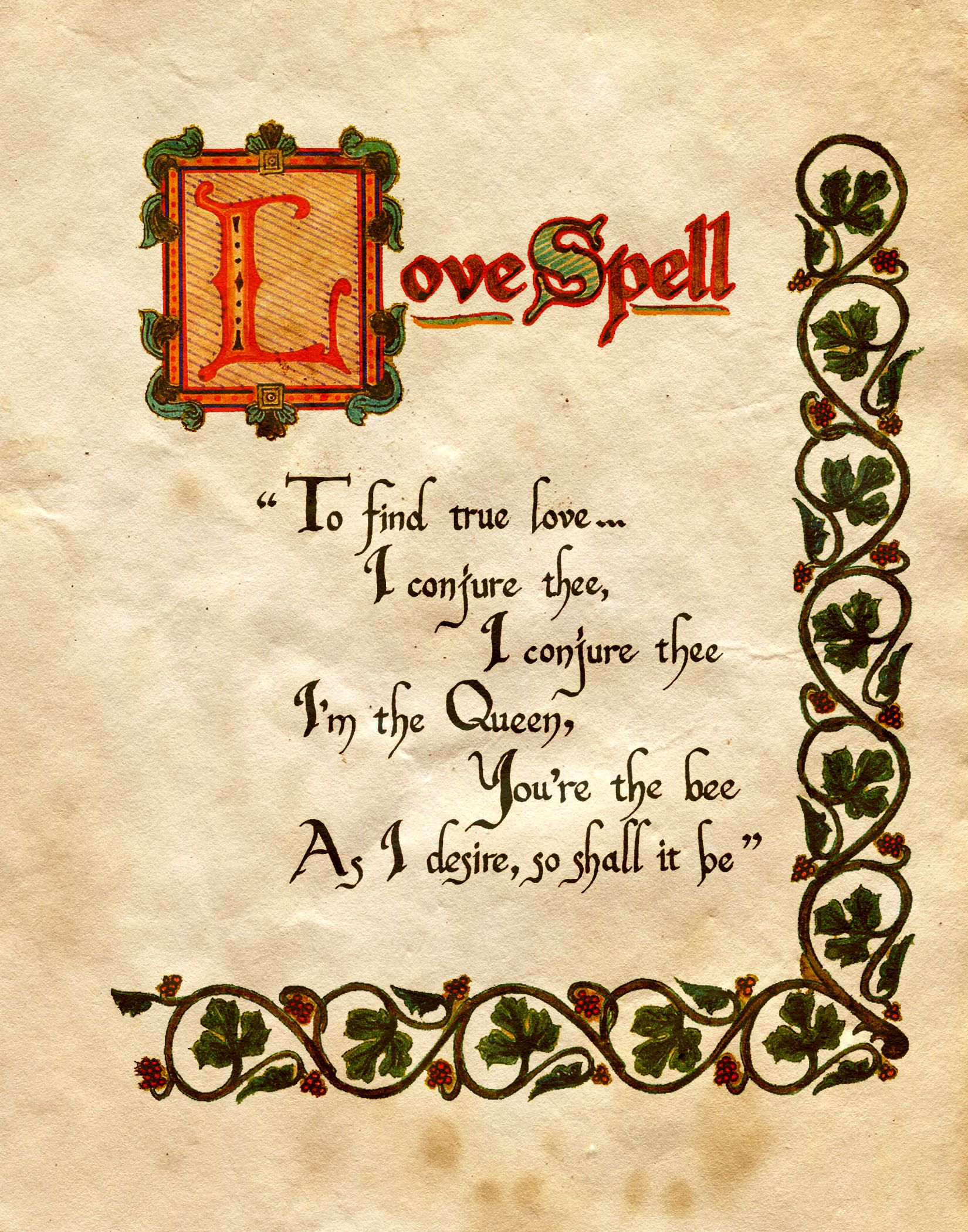 Pin by Nae Nae on Witchcraft | Charmed book of shadows, Witch spell