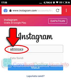 Buka Caranya Masuk Instagram Lewat Browser Opera Mini Tanpa