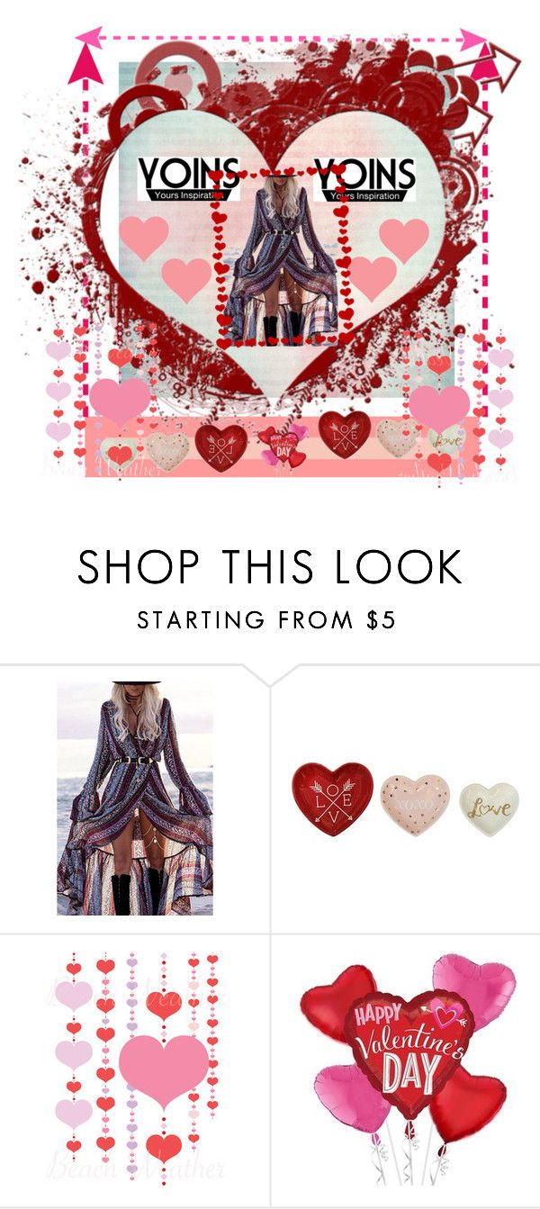 """Pink and Red Valentines"" by katniss4117-1 ❤ liked on Polyvore"
