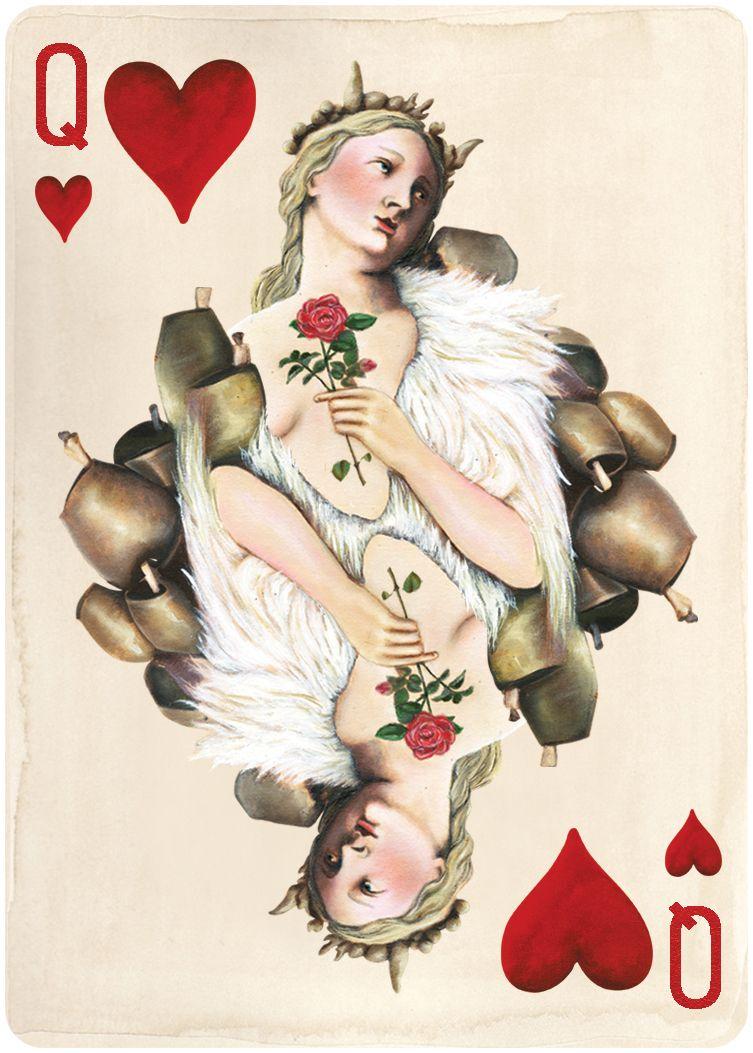 Vintage Queen Of Hearts 49