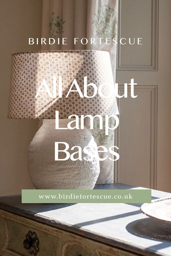 Tap to read all about our lamp bases, where we take a closer look at the design of each lamp, and how they were made. Including some of our stylish best sellers // #birdiefortescue #interiorblog #homedecorblog #lamp #lampbase #lamplivingroom #lampbedroom #lamphomedecor #homeinterior #homedecorideas #stylinglighting #livingroomessentials