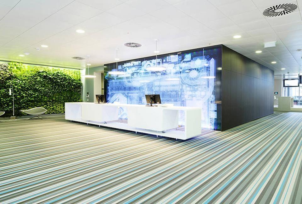 Microsoft Headquarters in Vienna , Interiors, Delood