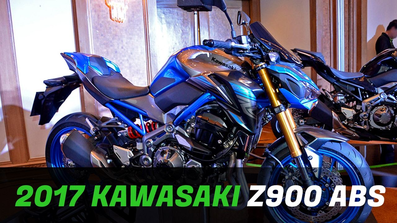 All New 2017 Kawasaki Z900 ABS By MAX SPEED News